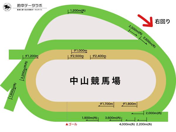 中山競馬場コース